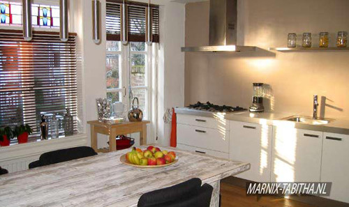 Genoeg KLUSTIP » Keukenwand zonder tegels, tips en links IF44
